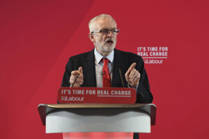 Líder Labouristickej strany Jeremy Corbyn.