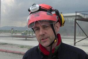 James Le Mesurier na snímke z roku 2015.