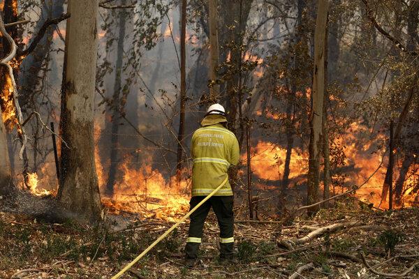 Sucho prispelo k ničivým požiarom.