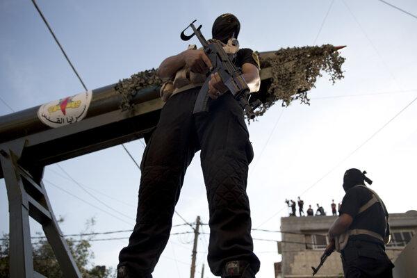 Bojovníci Islamského džihádu.