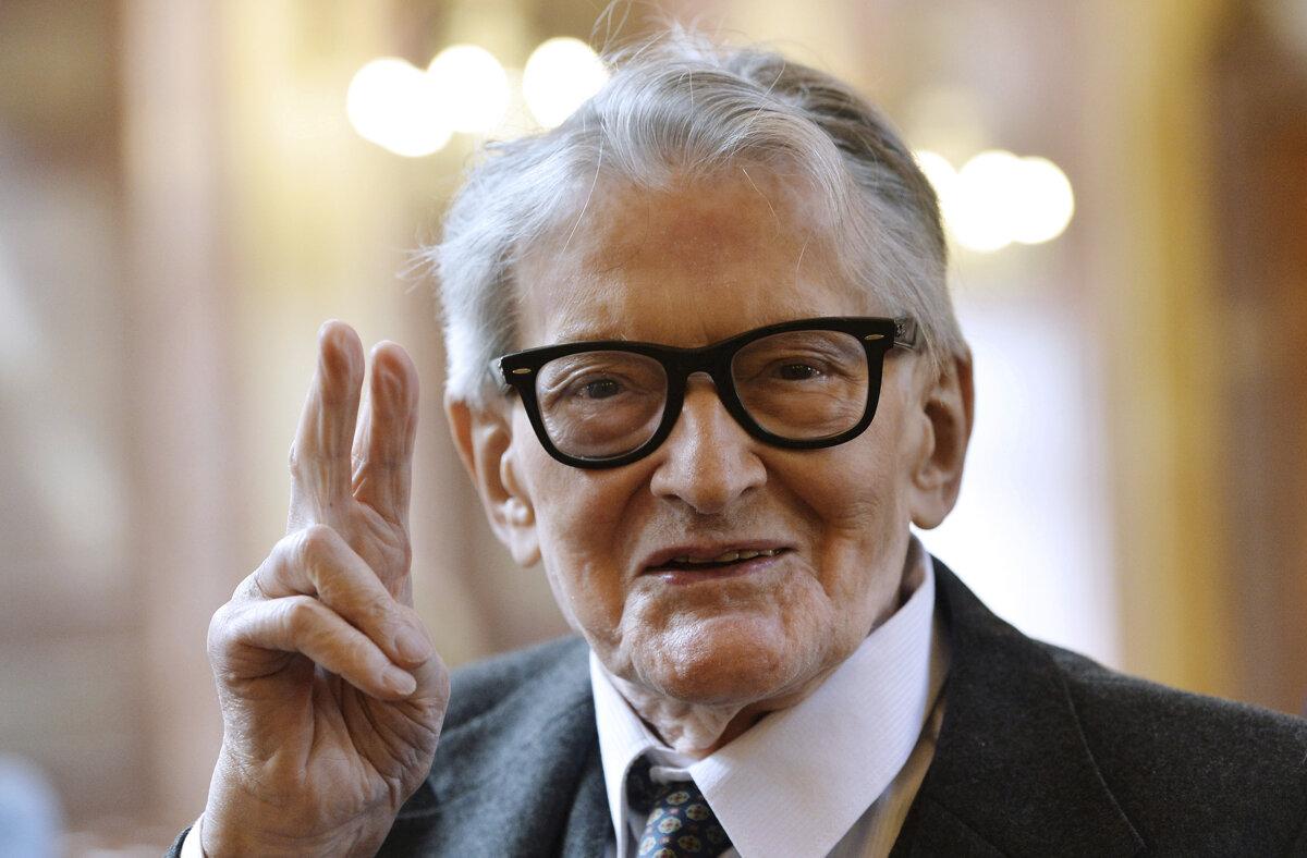 Stand für ein moralisches Kino: Vojtěch Jasný, der am 16. November 2019 in Prag gestorben ist.