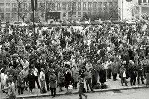 November 1989 v Žiline.
