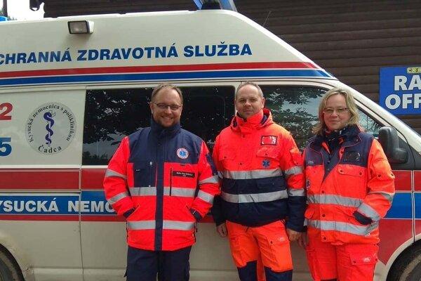 Čadčianski záchranári pomáhali aj pri organizácii 3. kola Slovenského pohára v cyklokrose CX Raková 2019.