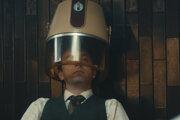 Záber z ruského filmu Humorista.