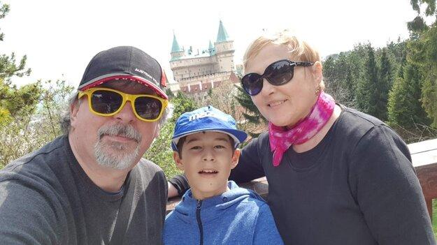 Rodina Labudovcov s Jarkom v Bojniciach