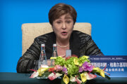 Šéfka MMF Kristalina Georgieva.