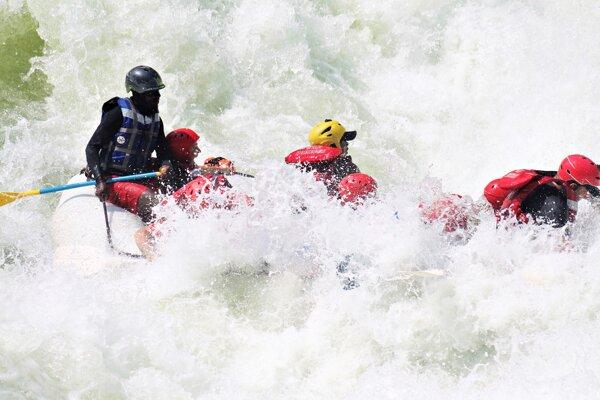 Kysučan si vyskúšal najťažší rafting sveta.