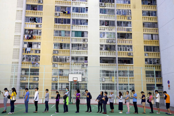V Hongkongu sa konajú komunálne voľby.