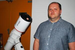 Astronóm Peter Gömöry.