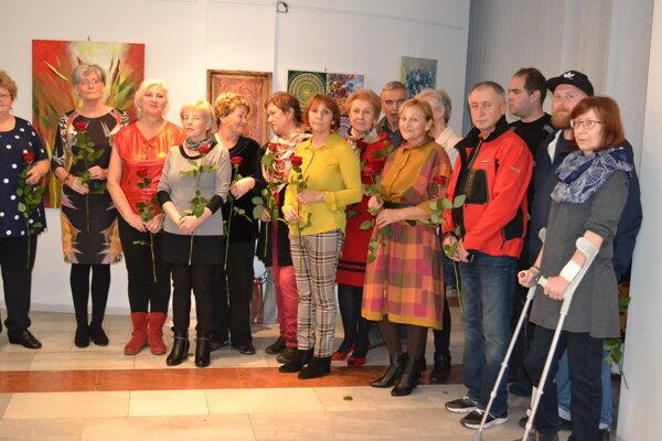Na VII. Humenskom výtvarnom salóne vystavuje 20 autorov.