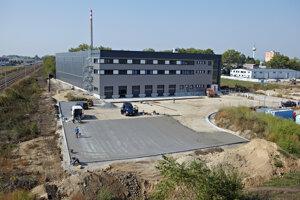 Aj takto prebiehala výstavba centra v Trnave.