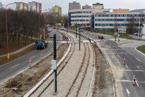 Modernizovať sa má najdlhší a najhlavnejší úsek trate od tunela po Molecovu.