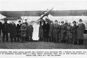 Mikuláš Lexmann figuroval ako letec aj v dobovej tlači.