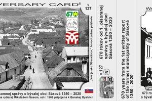 Súčasťou osláv bude aj vydanie turistickej samolepky a pohľadnice s motívom Sásovej.