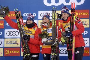 Nórske reprezentantky obsadili všetky tri pódiové umiestnenia.