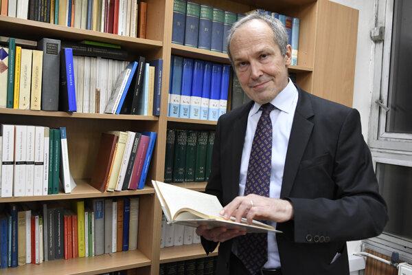 Švajčiarsky veľvyslanec v SR Alexander Hoffet.