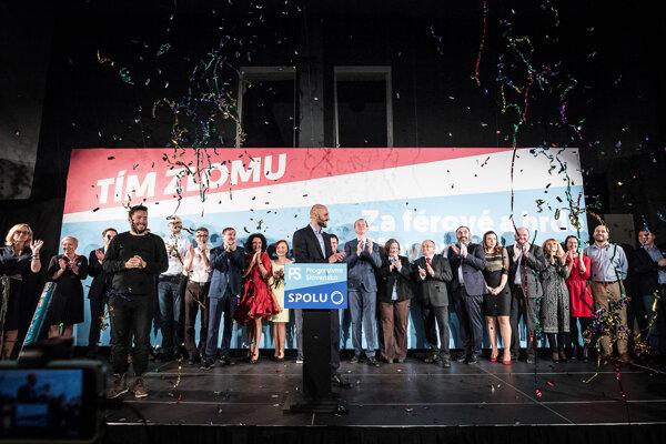 PS-Spolu predstavilo kandidátku.