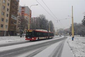 Dlhý trolejbus na Sídlisku III.
