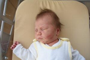Michaela Makasová (3700 g, 53 cm) sa narodila 24. novembra Marianne a Milanovi z Ladiec.