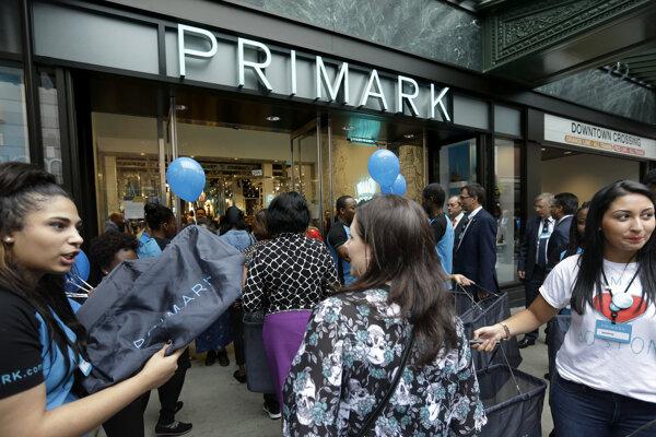 Obchod značky Primark.