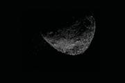 Vyvrhnutie čiastočiek, ako jav videla sonda OSIRIS-REx 6. januára 2019.