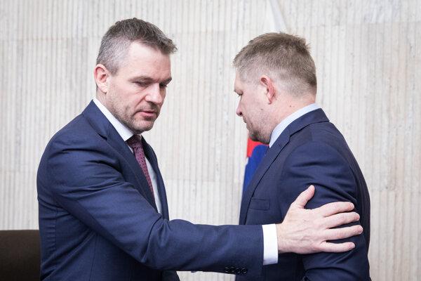 Peter Pellegrini vystriedal Roberta Fica na premiérskom poste.