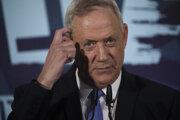 Líder izraelskej centristickej koalície Modrá a biela (Kachol lavan) Benny Ganc.