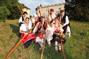 Členovia skupiny Moja fujarôčka.