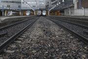 Štrajk ovplyvnil aj železničnú dopravu.