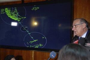 Lietadlo malo letieť na základňu na Antarktíde.