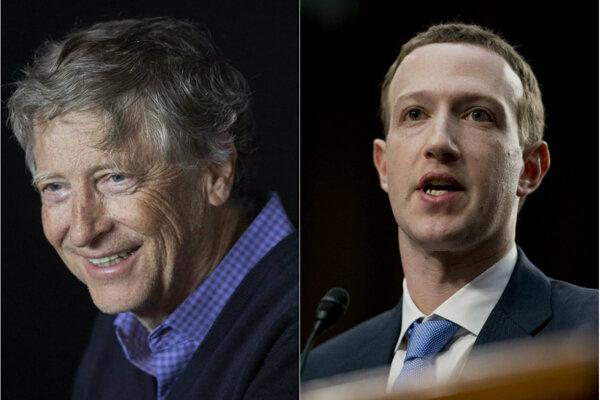 Bill Gates a Mark Zuckerberg