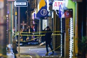 V ortodoxnom židovskom obchode boli nájdené telá piatich ľudí.