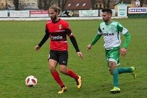 Dva góly zo zápasu s Humenným považuje Vladimír Pyda (vpravo) za svoj najvydarenejší jesenný kúsok.