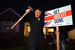 Brexit bol kľúčovou témou kampane pred voľbami. Boris Johnson chce odísť z Európskej únie na konci januára.