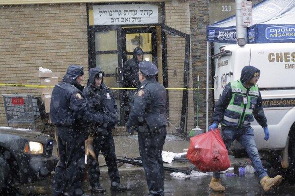 Útok na kóšer obchod v New Jersey.