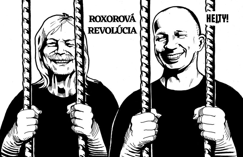 Roxorová revolúcia (Hej,ty! – Györe) 13. decembra