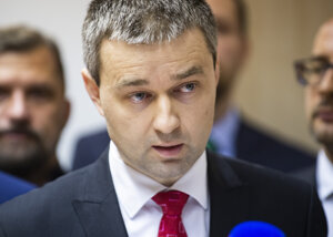 Predseda hnutia Összefogás - Spolupatričnosť Mózes Szabolcs.