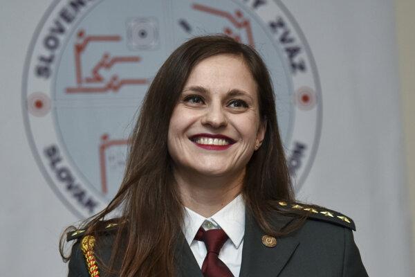 Strelkyňa Danka Barteková.