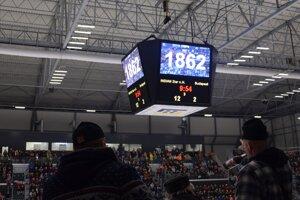 Žiarsky zimný štadión zažil v sobotu zatiaľ rekordnú návštevnosť.
