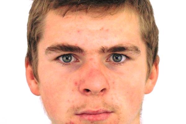 Podoba nezvestného 16.  ročného Vladimíra Špitku.