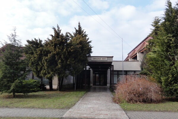 Mestský úrad v Detve pred rekonštrukciou.