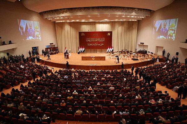 Iracký parlament.