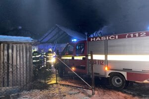 Trojkráľový požiar vo Švedlári.