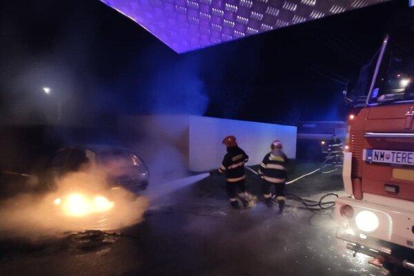 Požiar v Podolí.