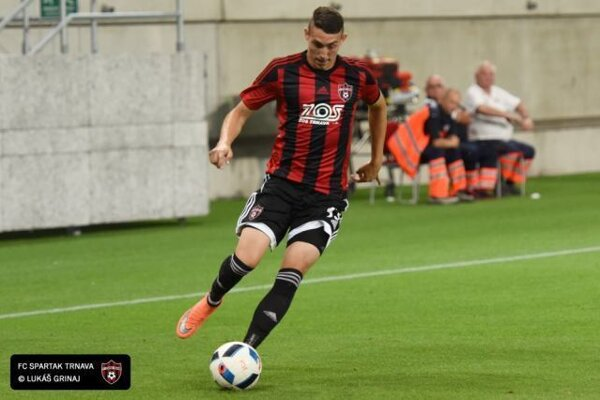 Erik Jirka v drese FC Spartak Trnava