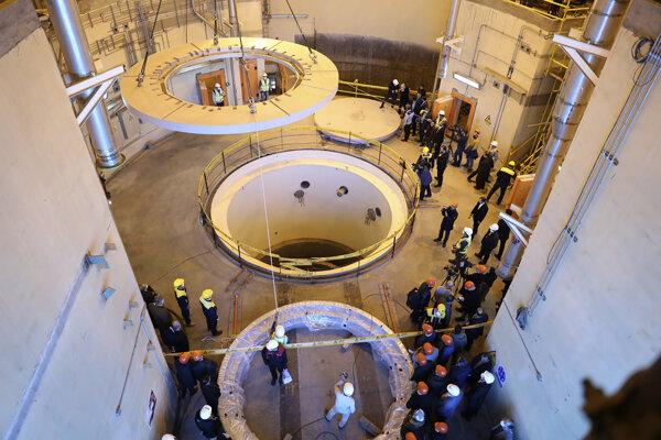 Iránske jadrové reaktory.