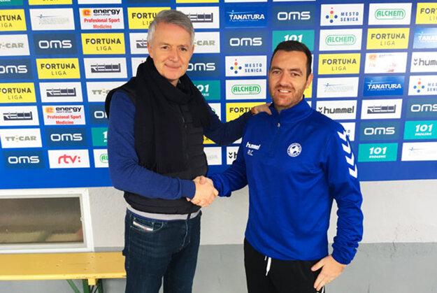 Novým trénerom FK Senica sa stal 37-ročný Portugalčan Ricardo Cheú