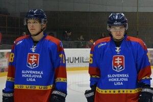 Martinský hokej reprezentovali Matúš Rudzan a František Poliaček.