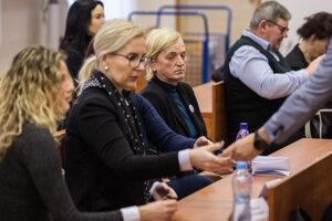 Zlatica Kušnírová na súde.
