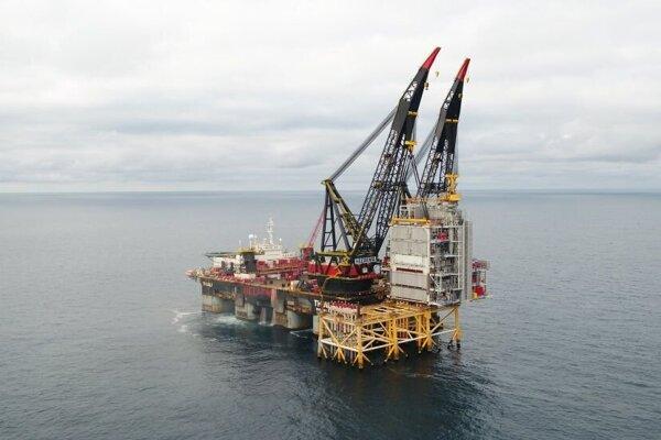 Ropná plošina nórskej spoločnosti Equinor